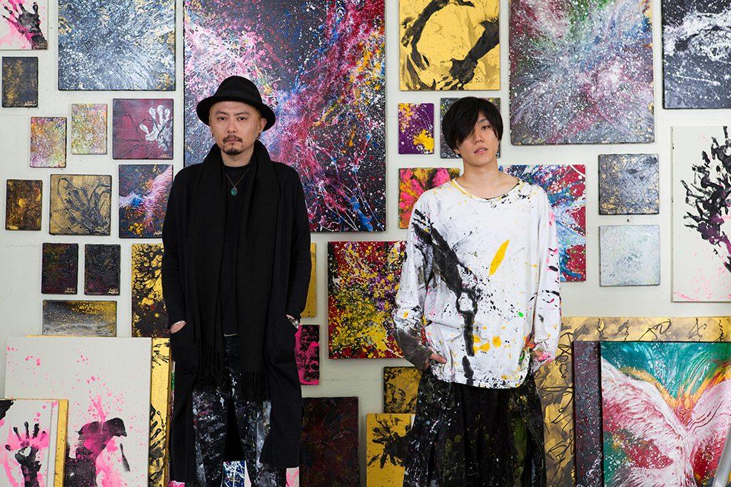 早乙女太一 × 柏原晋平 作品展「無意識の肖像」